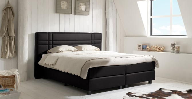 boxspringbett br ssel van landschoot boxspring welt. Black Bedroom Furniture Sets. Home Design Ideas