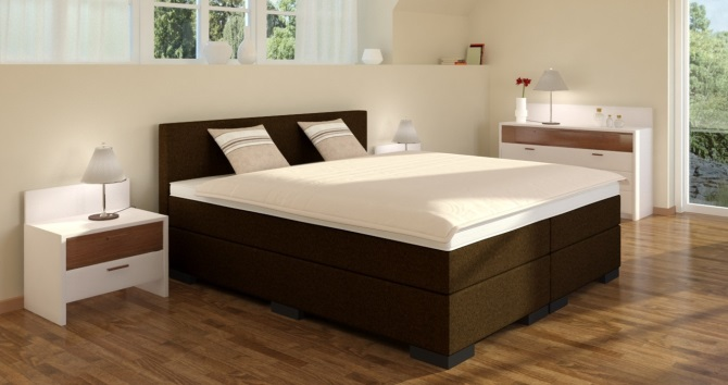 boxspringbett 160x210 cm online kaufen boxspring welt. Black Bedroom Furniture Sets. Home Design Ideas
