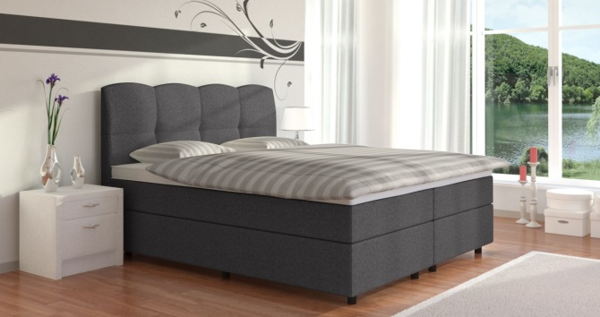 boxspringbett doppelbett online kaufen boxspring welt. Black Bedroom Furniture Sets. Home Design Ideas
