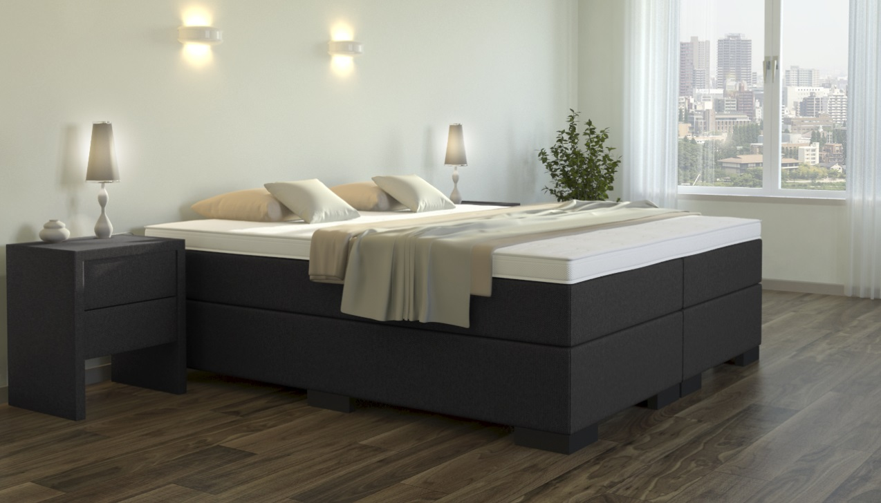 boxspringliege. Black Bedroom Furniture Sets. Home Design Ideas