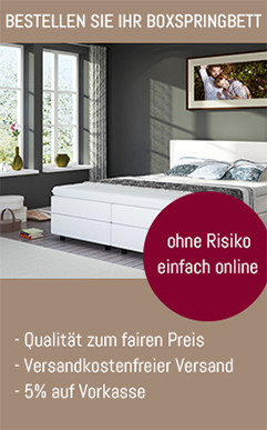 die ideale boxspringbett matratze und wie sie sie finden boxspring welt magazin. Black Bedroom Furniture Sets. Home Design Ideas
