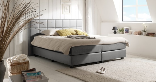 boxspringbett 160x200 cm online kaufen boxspring welt. Black Bedroom Furniture Sets. Home Design Ideas
