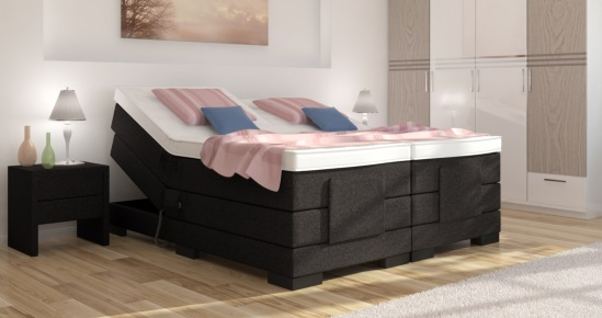 elektro boxspringbett berta ohne kopfteil online kaufen. Black Bedroom Furniture Sets. Home Design Ideas