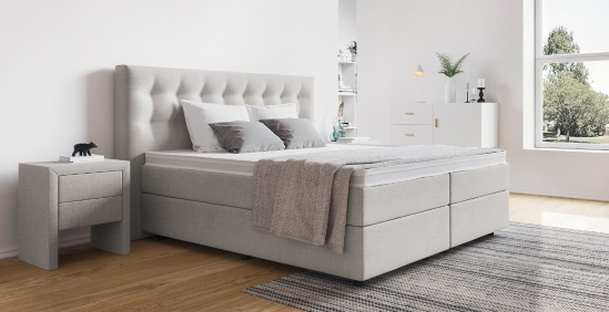 amerikanisches bett online kaufen boxspring welt. Black Bedroom Furniture Sets. Home Design Ideas