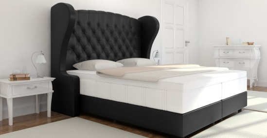 boxspringbett chesterfield kaufen boxspring welt. Black Bedroom Furniture Sets. Home Design Ideas