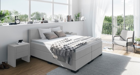 die beliebtesten boxspringbetten im vergleich. Black Bedroom Furniture Sets. Home Design Ideas