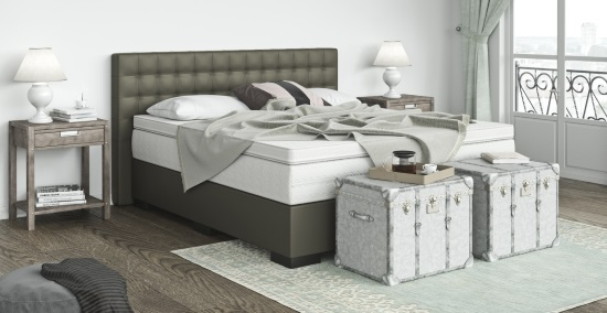 boxspringbett kunstleder online kaufen boxspring welt. Black Bedroom Furniture Sets. Home Design Ideas