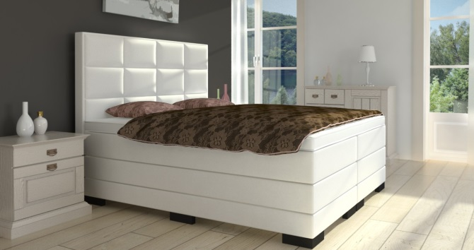 boxspringbett in h he 70 cm kaufen boxspring welt. Black Bedroom Furniture Sets. Home Design Ideas