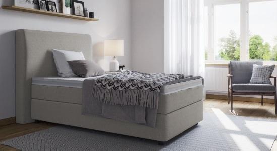 boxspringbett einzelbett online kaufen boxspring welt. Black Bedroom Furniture Sets. Home Design Ideas