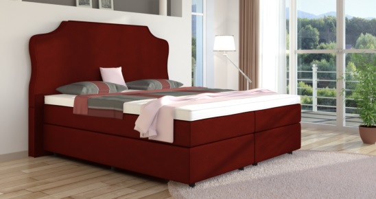 boxspringbett marie online kaufen boxspring welt. Black Bedroom Furniture Sets. Home Design Ideas