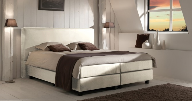boxspringbett paris van landschoot boxspring welt. Black Bedroom Furniture Sets. Home Design Ideas