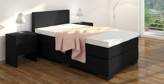 boxspringbett 80x220 cm online kaufen boxspring welt. Black Bedroom Furniture Sets. Home Design Ideas