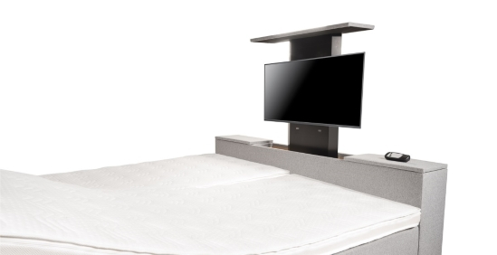 boxspringbett mit tv lift boxspring welt. Black Bedroom Furniture Sets. Home Design Ideas