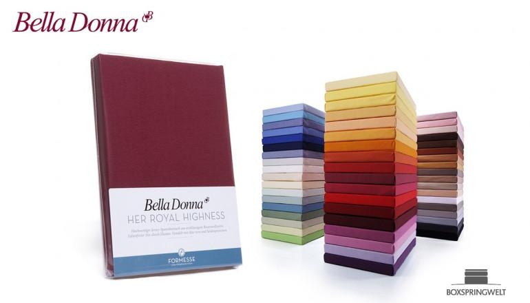 Bella Donna Jersey Spannbettlaken
