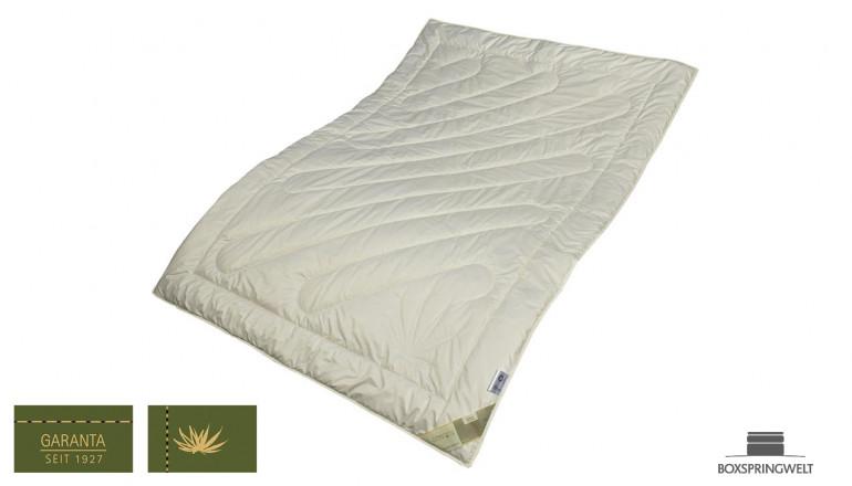 Bettdecke aus Bio-Hanf, Wärmeklasse 2