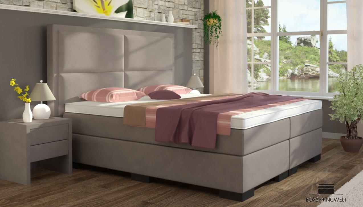 boxspringbett otto 160 x 200 cm boxspring welt. Black Bedroom Furniture Sets. Home Design Ideas