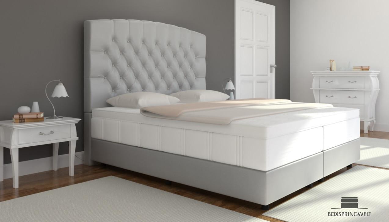 boxspringbett elisabeth 200 x 220 cm boxspringwelt. Black Bedroom Furniture Sets. Home Design Ideas