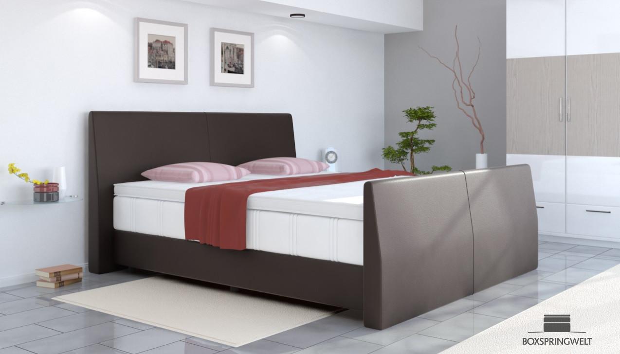 boxspringbett abel 160 x 220 cm. Black Bedroom Furniture Sets. Home Design Ideas