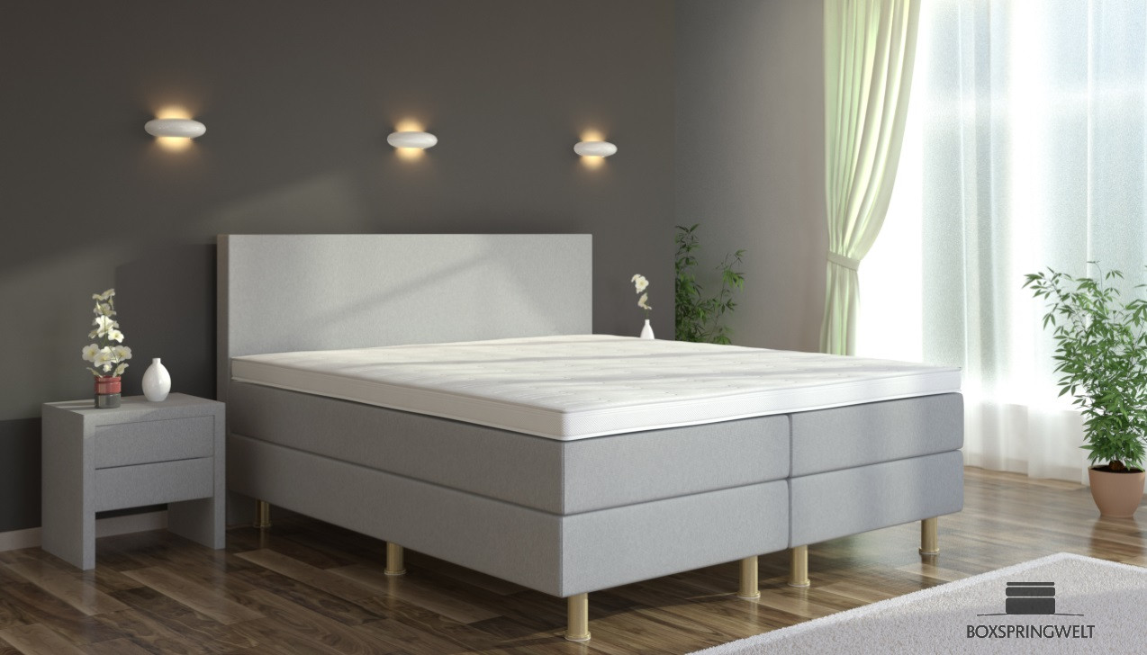 boxspringbett eva 180 x 220 cm boxspring welt. Black Bedroom Furniture Sets. Home Design Ideas