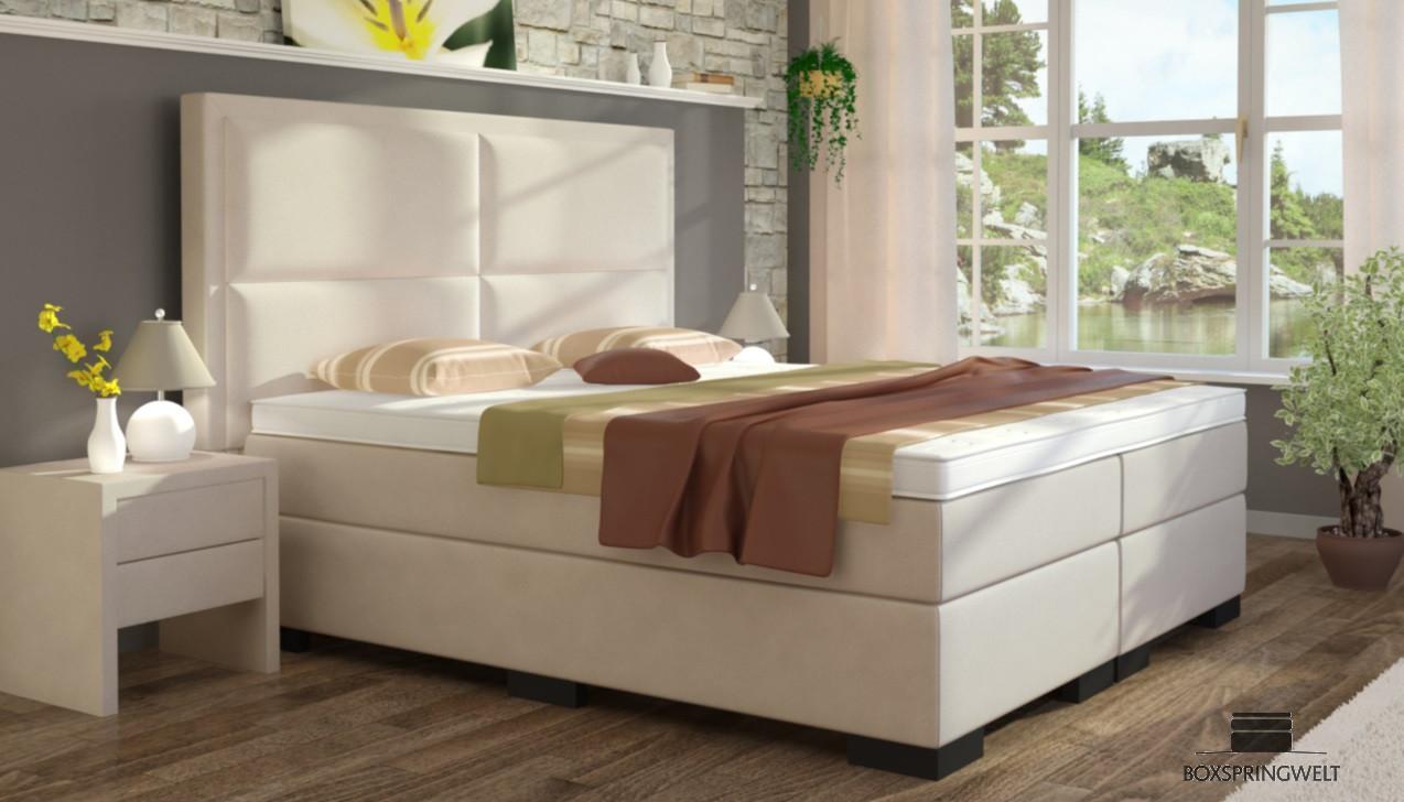 boxspringbett otto 180 x 220 cm boxspring welt. Black Bedroom Furniture Sets. Home Design Ideas