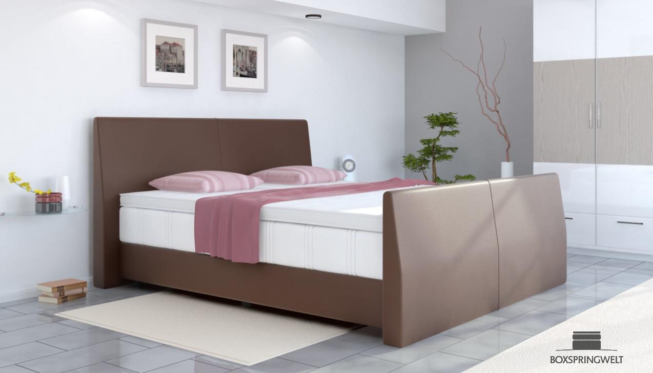 boxspringbett abel 120 x 200 cm. Black Bedroom Furniture Sets. Home Design Ideas