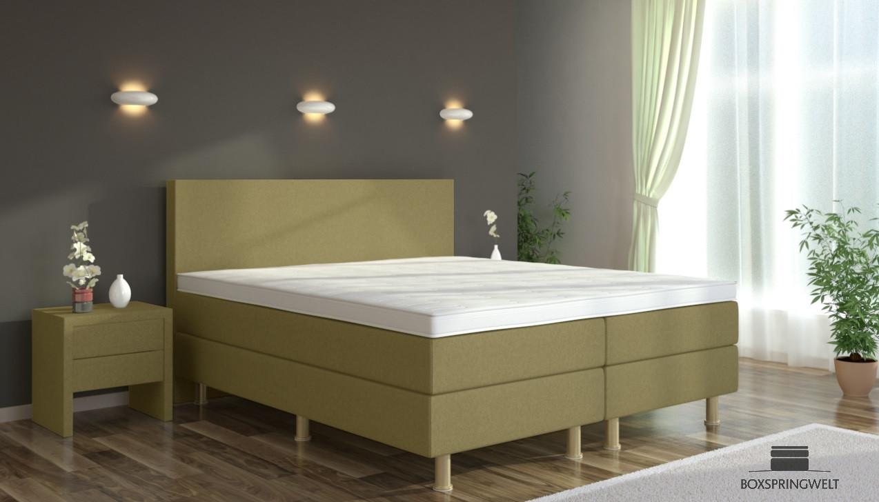 boxspringbett eva 160 x 200 cm boxspring welt. Black Bedroom Furniture Sets. Home Design Ideas
