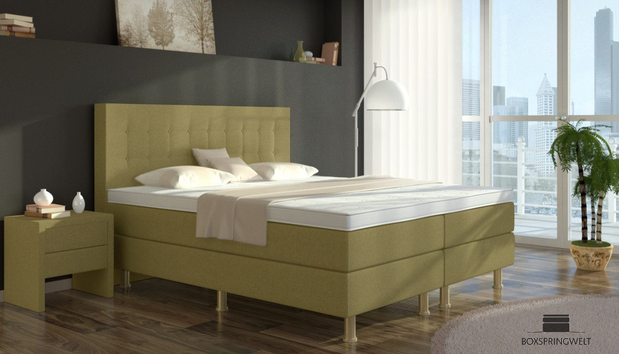 boxspringbett sofie 140 x 200 cm boxspring welt. Black Bedroom Furniture Sets. Home Design Ideas