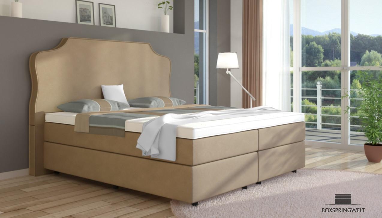 boxspringbett marie 200 x 220 cm boxspring welt. Black Bedroom Furniture Sets. Home Design Ideas