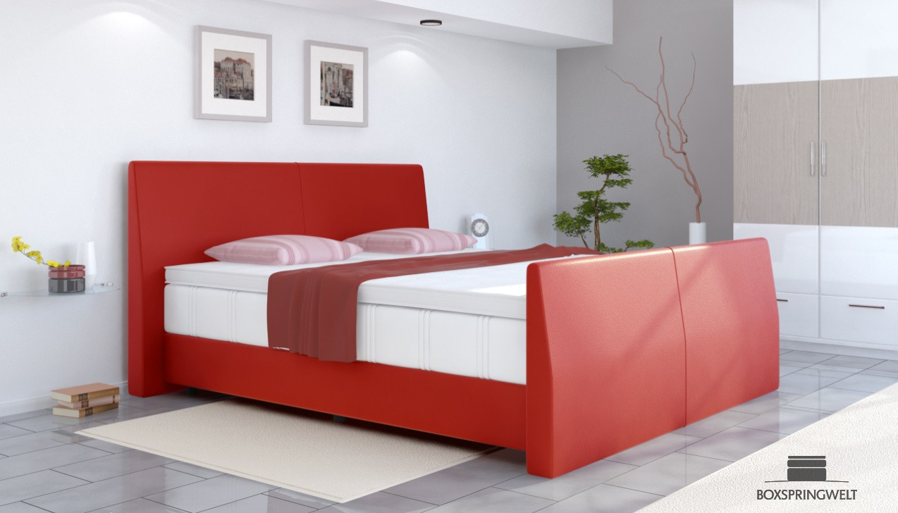 boxspringbett abel 90 x 200 cm. Black Bedroom Furniture Sets. Home Design Ideas