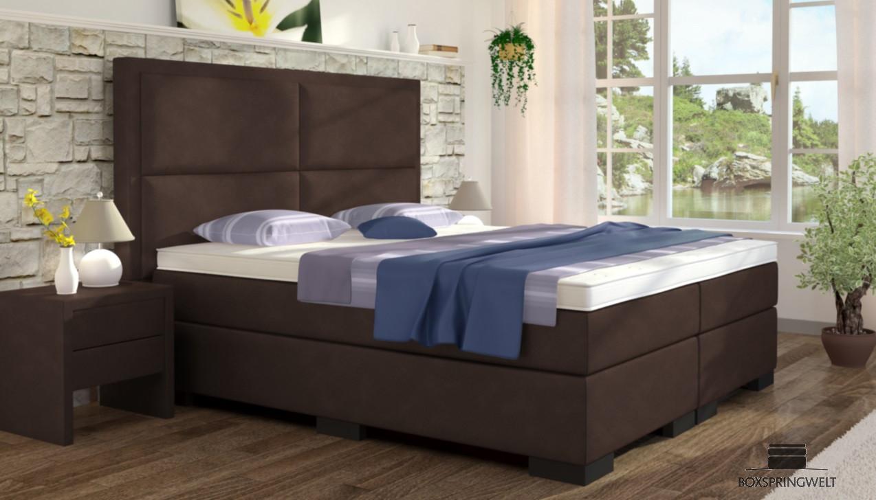 boxspringbett otto 200 x 200 cm boxspring welt. Black Bedroom Furniture Sets. Home Design Ideas