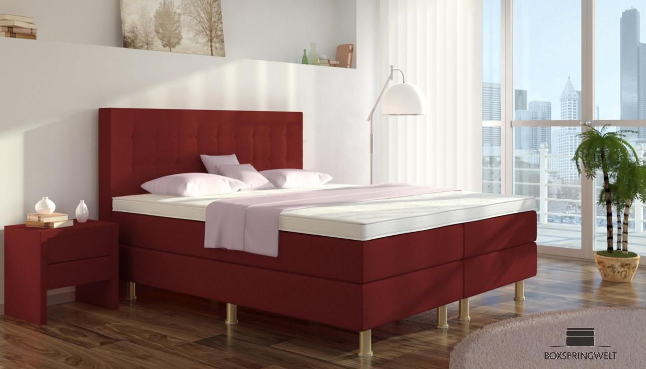 boxspringbett sofie 160 x 220 cm boxspring welt. Black Bedroom Furniture Sets. Home Design Ideas
