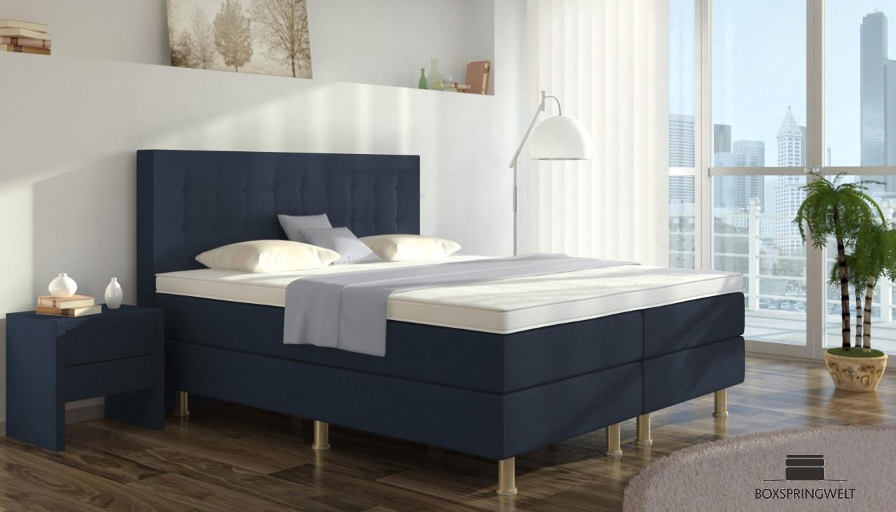 boxspringbett sofie 90 x 210 cm boxspring welt. Black Bedroom Furniture Sets. Home Design Ideas