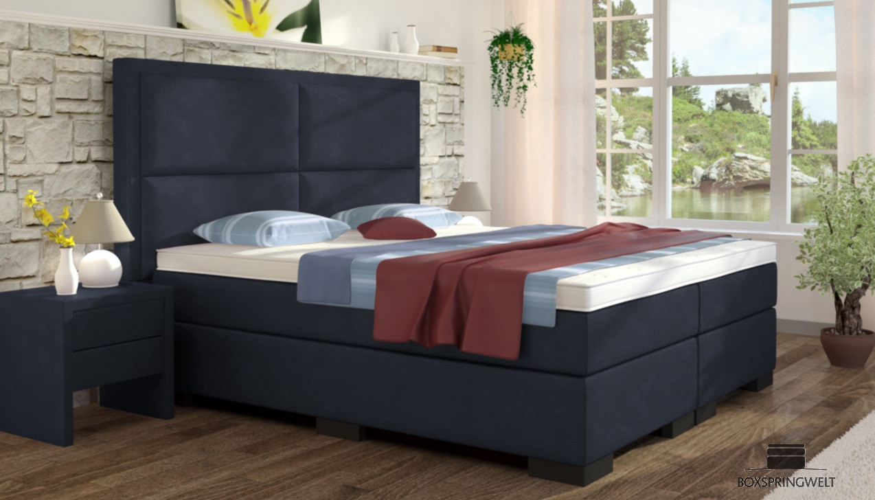 boxspringbett otto 180 x 220 cm boxspring welt. Black Bedroom Furniture Sets. Home Design Ideas