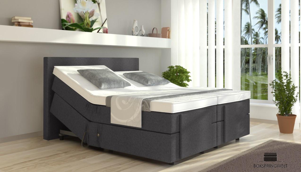 elektrisches boxspringbett henry 80 x 220 cm. Black Bedroom Furniture Sets. Home Design Ideas