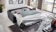 Faltbett mit ergonomischer Kaltschaum-Matratze