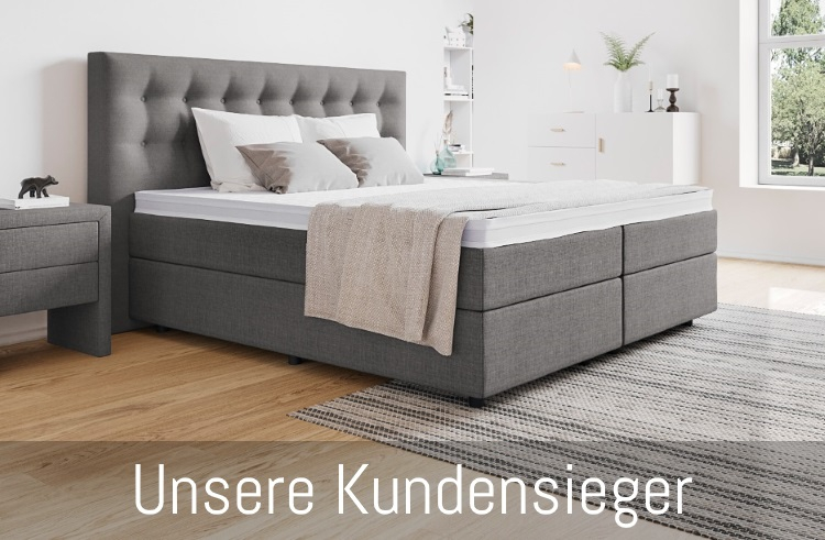 boxspringbett oder bett mit lattenrost. Black Bedroom Furniture Sets. Home Design Ideas