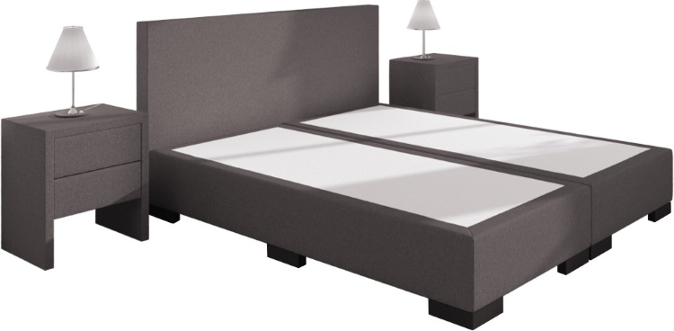 boxspringbett william ohne matratze 160 x 200 cm. Black Bedroom Furniture Sets. Home Design Ideas
