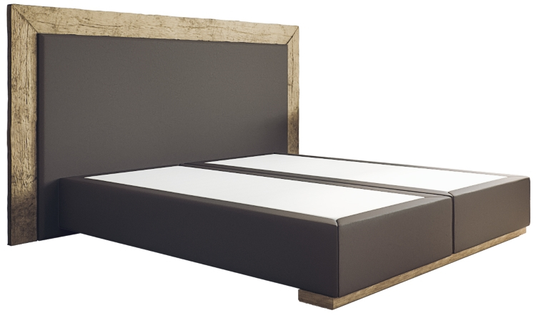 boxspringbett diego ohne matratze 180 x 200 aus antikholz. Black Bedroom Furniture Sets. Home Design Ideas