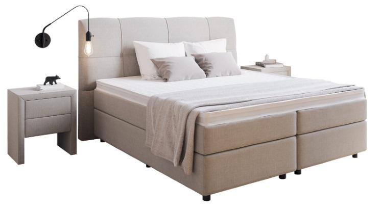 boxspringbett matilda 180 x 210 cm boxspring welt. Black Bedroom Furniture Sets. Home Design Ideas