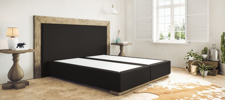boxspringbett ohne matratze. Black Bedroom Furniture Sets. Home Design Ideas