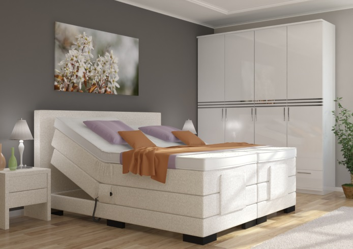 boxspringbett mit motor 200 200 kerryskritters. Black Bedroom Furniture Sets. Home Design Ideas