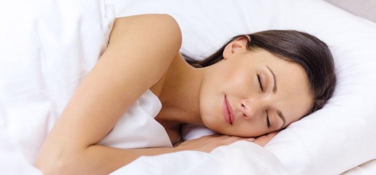 Schlafen auf der Seite