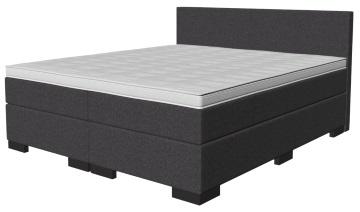 boxspringbett h he. Black Bedroom Furniture Sets. Home Design Ideas