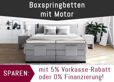 Boxspringbett Mit Motor 120x200 Cm